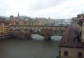 Florence sous la pluie