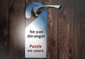 Puzzle Ne pas déranger - do not disturb