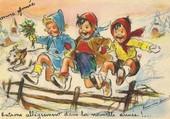 Carte postale enfantine