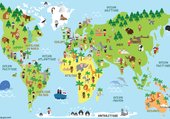 Puzzle les continents