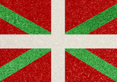 Drapeau Basque à paillette