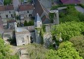 Chateau de Courcelles le Roy aérien