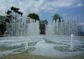 Magnifiques jets d'eau