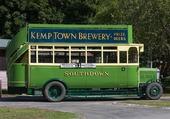Ancien bus anglais