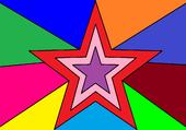 étoile couleur