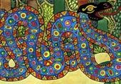 Puzzle Serpent décoratif