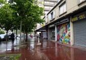 rue sous la pluie