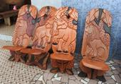 Puzzle Chaises africaines
