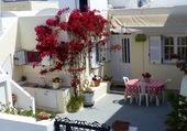 Terrasse à Santorin