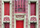 façade à Barcelonne