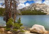 beau lac vert