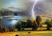 Puzzle Un bel orage