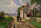 Petit village de Normandie