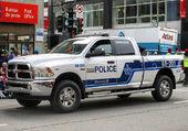 camion de la police