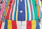 Une bedaine multicolore !