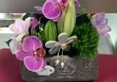 Jolie composition de fleurs