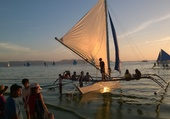 Puzzle Coucher de soleil à Boracay/Philippines