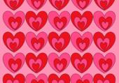 Puzzle Coeurs psycadélick