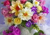Jolie peinture de fleurs