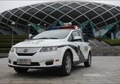 auto de police de la chine