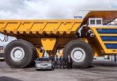 camion russe de marque  belax