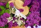 Puzzle Panier de lilas