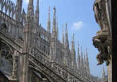 Le duomo a Milan