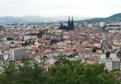 Clermont Ferrand par temps gris