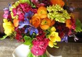 Puzzle Bouquet coloré