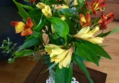 Bouquet d'Alstroméria