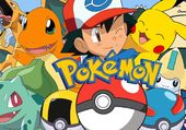 Pokemon pikachu et sacha