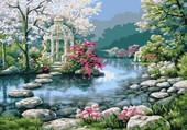 Puzzle Japanese Garden