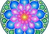 Mandala fleur