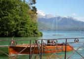 Navigation sur le lac d' Annecy