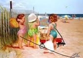 Puzzle sur la plage