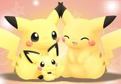 Famille de pikachu ;D