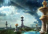 landscape fantasy chess