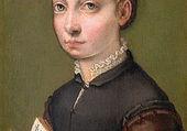 Puzzle portrait une jeune femme peintre