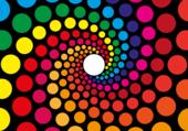 Spirale de couleur