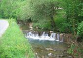 Barrage sur ruisseau