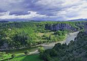 Paysage d'Ardèche la Loire