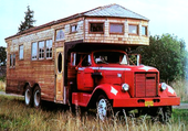 camping- cars rouge