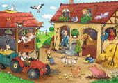 Puzzle travail à la ferme
