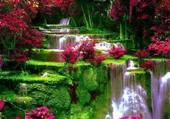Puzzle Très jolie cascade