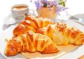 croissants pour le petit déjeuner
