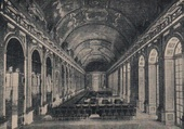 Versailles Galerie des Glace en 1919