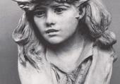 Jeune fille au chapeau fleuri de ross