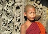Jeune bonze du Myanmar
