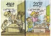 Evolution !!! les temps changent