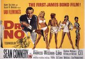 Affiche premier James Bond